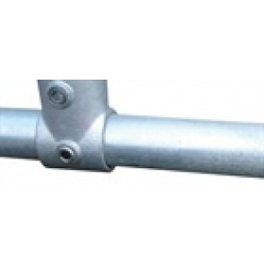 "Galvanised 1"" Malleable Iron Tubing x 6.5 mtr Screwed"