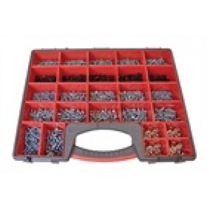 MASTER PACK HEX HEAD SCREWS 295PC