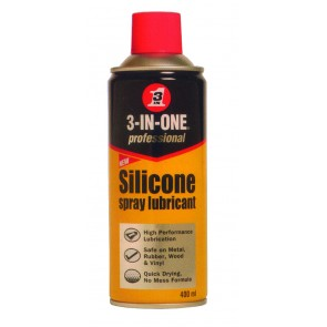 3-IN-ONE PROFESSIONAL -Silicon e Spray Lubricant 400ml Can