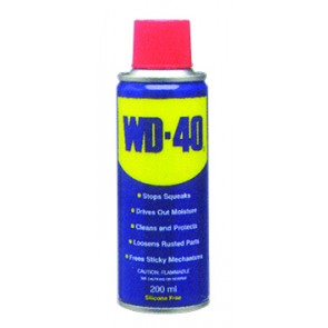 WD40 Multi-Purpose Lubricant 250ml Can