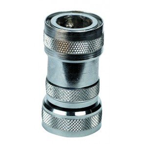 "NITO 1/2"" System Coupling 3/4"" BSP Female Thread & Stop Valv"