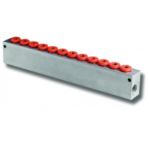 """1/4""""BSP Inlets to 12 x 6mm Outlets"""