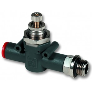 "Flow Control 4mm to 1/8""BSP"
