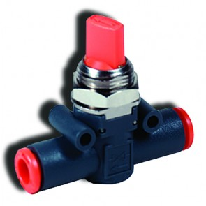 Line-On-Line Valve 6mm Tube On/Off Function