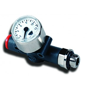 Line-On-Line Gauge G1/8 to 8mm Tube