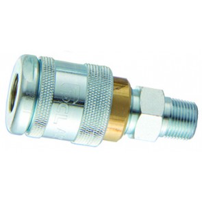 "PCL 100 Coupling 1/2""BSPT Male Thread"