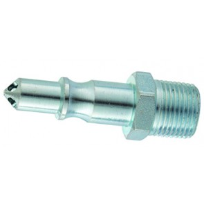 """PCL 60 Coupling Plug 1/4""""BSPT Male Thread"""