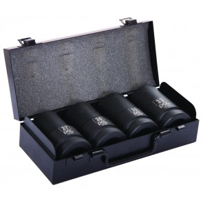 "4pc 1"" Drive Deep Impact Socket Set"