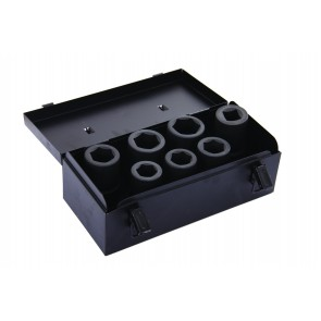"7pc 1"" Drive Deep Impact Socket Set"