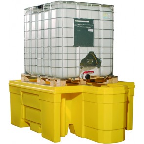 Flexible Cover for IBC Spill Pallet