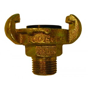 """Claw Coupling 1/2"""" BSP Male Thread"""