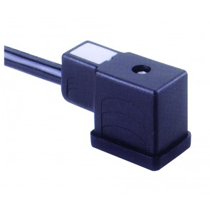 Socket Connector 2.0MTR 2 Poles + Earth Opp. Cable End