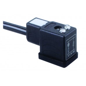 Socket Connector 2.0MTR 24V 2 Poles + Earth Opp. Cable End