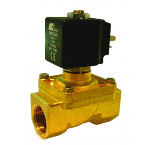 "ACL Solenoid Valve G1"" Ports 24mm Orifice AC Version"