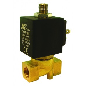 "ACL Solenoid Valve G3/4"" Ports 18mm Orifice DC Version"