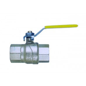 "T-Handle Gas Ball Valve Female/Female Threads G1"" Threads"