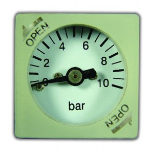 27mm 0-10Bar Gauge