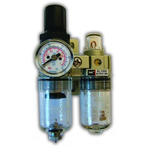 Micro Filter Regulator + Lubricator Set