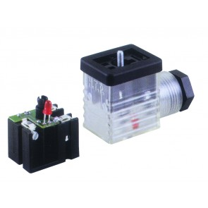 Socket Connector PG9 24V 2 Poles + Earth
