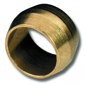 Brass Compression Ring 10mm O.D.