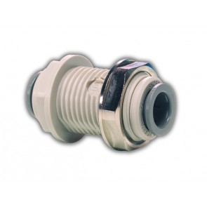 "Bulkhead Connector 1/4""OD"