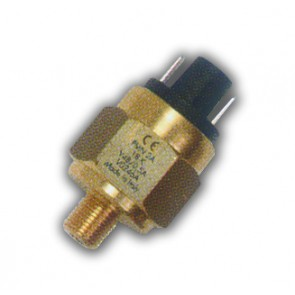 "Adjustable Pressure Switch Pus h-On Terminals G1/4"" 0.2-2 Ba"