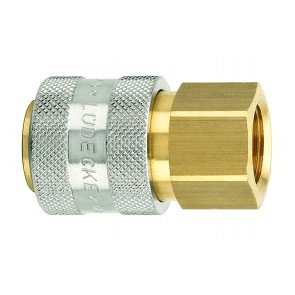"Series 13 Coupling Body 1/4""BSP Female Thread"