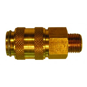 Interchange Coupling Plug 21 S eries D/Shut-Off G1/4 Female