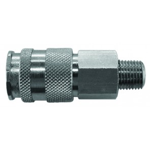 Interchange Coupling 25 SeriesD/Shut-Off G1/4 Male Thread