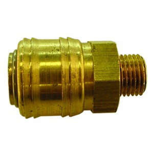 Brass Euro Coupling G1/4 Male