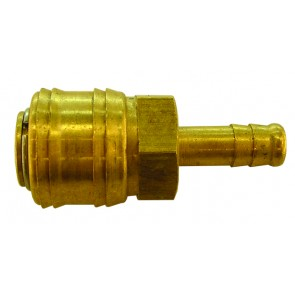 Brass Euro Coupling 8mm Hosetail