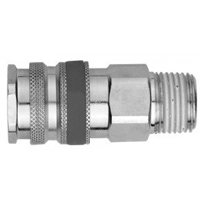"Series 695 Coupling Body 1/4""BSP Male Thread"