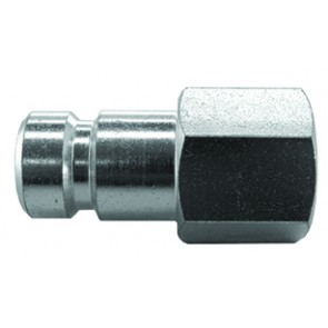 "Series 604 Coupling Plug 1/4""BSP Female Thread"