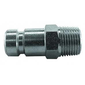 "Series 604 Coupling Plug 1/4""BSP Male Thread"