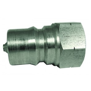 "Hydraulic ISO-A Coupling Plug 3/4""BSP Female Stainless Steel"