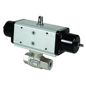 OMAL G1/2 SINGLE ACTING BALL VALVE