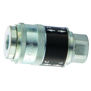 "PCL Safeflow Coupling Rp1/4"" Female"