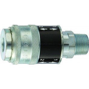 "PCL Safeflow Coupling R3/8"" Male"