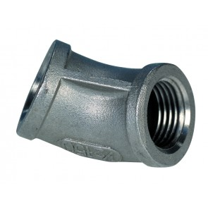 "SSFB18 Female Equal Bend 45 Degree 1/8"" BSP"