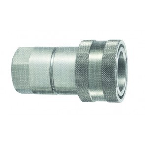 "QRCHA34FSSV Hydraulic ISO-A Coupling 3/4""BSP Female Stainless Steel"
