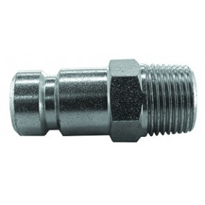 "QRP3212M Series 604 Coupling Plug 1/2""BSP Male Thread"