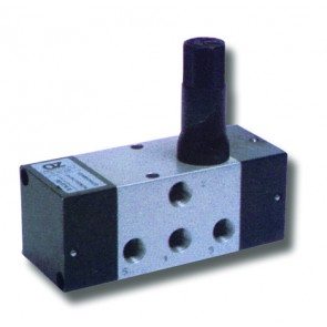 High Flow Pneumatic Timer with Automatic Return