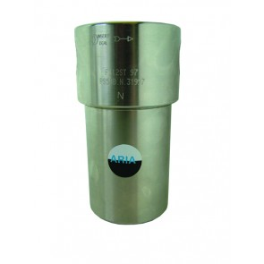 233LGE06 Stainless Steel Filter G3/8 Ports