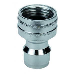 """NITO 1/2"""" System Fitting Nippl e with 1/2"""", 3/4""""BSP & M22x1"""