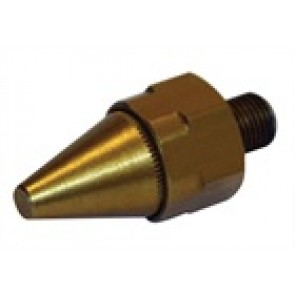 """Anodised Alloy Nozzle x 1/8"""" (Gold)"""