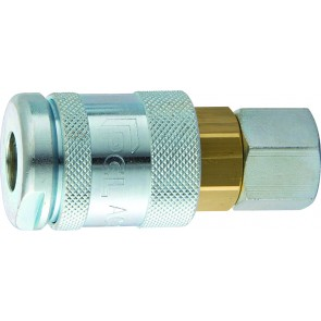 """PCL 60 Coupling 1/4""""BSPT Female Thread"""