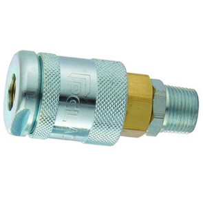 """PCL 60 Coupling 1/4""""BSPT Male Thread"""