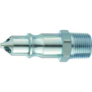 """PCL 100 Coupling Plug 1/2""""BSPT Male Thread"""