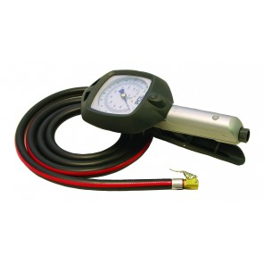 """PCK Airforce Inflator 21"""" Hose, Twin Hold-on Connector"""
