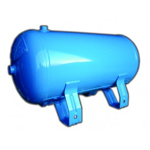 Horizontal Air Reciever 25 Ltr Capacity PED Compliant